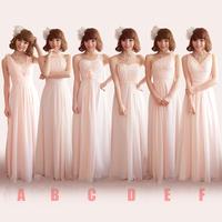 New 2014 Elegant Bridal Evening Dress Long Bridesmaid Dress cocktail Party Dress