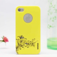 Special Offer Fashion New Flower Plastic Hard Case for iPhone 4 4s