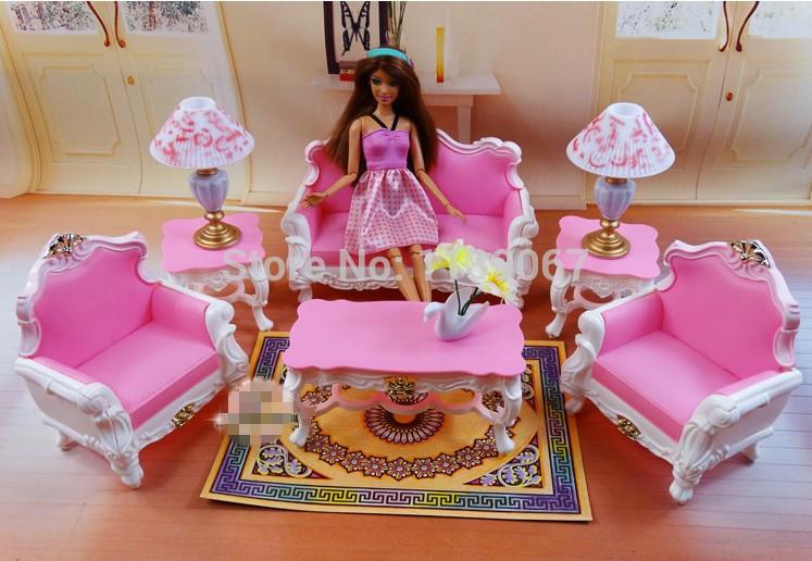 Witte woonkamer sets : Prachtige roze& witte sofa set woonkamer ...