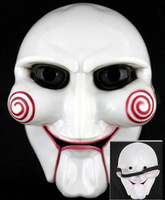 Wholesale fashion dedicated Saw Cosplay Masquerade Horror Scary party mask Saw mask 10pcs/lot MJ003