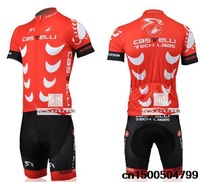 Free shipping! CASTELLI 2014 #3 team cycling jersey and shorts / short sleeve jerseys pants bike bicycle riding wear set