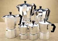 600ml 7-9 person use  coffee pot Moka Expres pot aluminum metal mocha coffee pot gas oven use