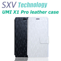 Free shipping mobile phone bag PU leather flip case for UMI X1 Pro cover