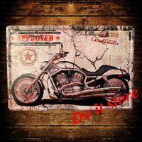 [ Do it ] Metal sign Wholesale Vintage Craft Pub Bar Plaque Wall painting PUB Decor 20*30 CM AB-126
