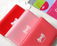 10pcs/lot Mix Color Cute Kartoon Bow Credit Card Holder ID Card Case Free Shipping Wholesale