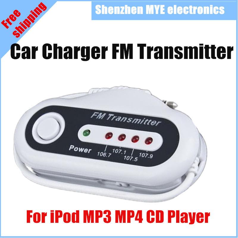 FM трансмиттер MYE 4 FM iPod MP4 MP3 CD mymei best price new portable 3 5mm pillow speaker for mp3 mp4 cd ipod phone white