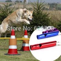 DHL shipping 500pcs/lot Pet Training Adjustable Ultrasonic Dog Whistle Pet Keychain Hot Sale Super Quality