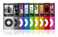 "New 4th 8GB 1.8"" LCD MP3 MP4 PLAYER MP3 with FM Radio suport video 9 colors Free Shipping"