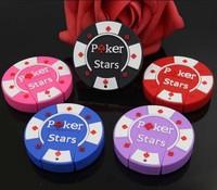 AC33 2014 Poker Star  Bargaining chip Model  Plastic Boy Toy Gift 2.0 usb drive memory flash stick pen disk 1GB to 32GB