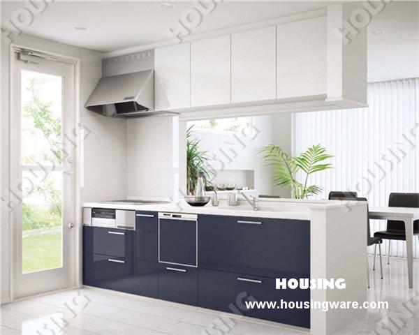 Goedkope Keuken Opbergkast : Modern White Kitchen Cabinets