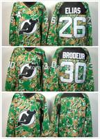 2014 Cheap stitched  NHL Hockey Jerseys New Jersey Devils blank 3rd red/ camo ice hockey jersey/shirt/sportswear
