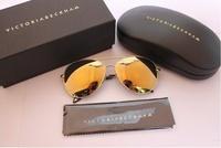 Free shipping! 2014 famous fashion aviator sunglasses.   polarized colorful lenses Sunglasses  brand designer vb sun glasses
