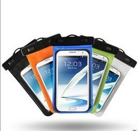 20pcs/lot.Durable PVC Waterproof Phone Bag Underwater Case for iPhone 5s 5C 4S 4 Samsung s5 S4 S3 note3 2 htc one M8 Pouch
