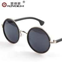 Fashion Round Sunglasses Men Women Unisex UV400 Coating Sunglass Steampunk Vintage Retro Classic Prince, Free Shipping
