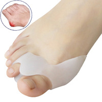 Hot selling Toe seperating gel bunion shield Gel Separators Stretchers Bunion Protector Straightener Corrector Alignment 2piece