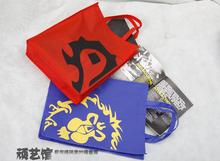 10 pcs / a beaucoup : Horde et Alliance non - tissé sac sac à main, Sac cadeau de haute qualité environnementale du monde de Warcraft WOW(China (Mainland))