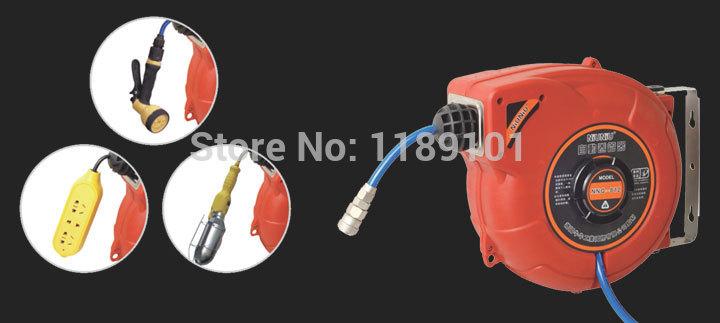 Pu bag yarn 15 meters automatic hose reel car wash tympanites car wash supplies hose reel(China (Mainland))