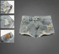 Free Shipping 2014 Summer Female brand women Fashion Low Waist Hole Women Denim Shorts short Jeans 19 style