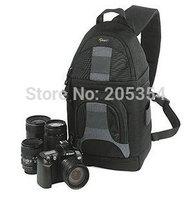 Freeshipping Original Lowepro SlingShot 200 AW Shoulder Digital Camera Bag DSLR Backpack with All Weather Cover ( Black )
