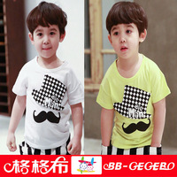 2014 Hot Sale Baby & Kinds Unisex Summer T-Shirts with Cats in Three-Dimensional in Cheaper Price & Free Shipping