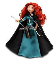 Free Shipping Original Brand Classic Doll Brave Princess Merida Dolls for Girls Christmas New Year Birthday Gifts Baby Toys kids