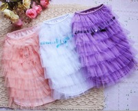 3 COLOR Luxury Cat Dog clothes Party Wedding Princess Layer skirt dress XS,S,M,L ,XL,XXL,NEW