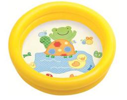 Intex Kiddie Pool - Inflatable Pool Kids Baby Air Swimming Pool Free shipping(China (Mainland))