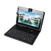 "HOT! tablet pc case with keyboard,keyboard case for 10"" tablet pc black and white Free Shipping"