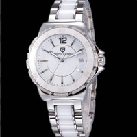 NEW 2014 Women Ceramic Watches luxury Quartz watch  Fashion Watches  free shipping