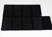 Solar Folding panel Charger 80W with dual output controller USB5V&DC18V