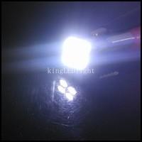 HK Post Free! 200pcs  No OBC Error Free T10 4 SMD Pure White CANBUS Interior Car W5W 4 LED Light Bulb 12V