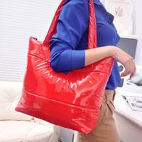 2014 Hot Winter Cotton Handbag Fashion Women handbag 6 color women shoulder bag,warm handbag,Leisure feather totes
