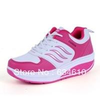 Fashion  female leisure sports shoes  Woman Comfortable soft bottom shoes/tone skylar clog/height Increasing Shoes