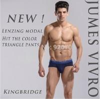 JUMES VIVRO /High Quality Men Shorts 2Pcs/Pot Mens Modal Underwear Briefs Low Waist Sexy Panties, M/L/XL/XXL#U5520S, Free Ship
