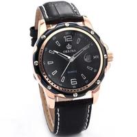 2014 Limited Hardlex Dress Hot Orkina Really Belt Men's Fashion Brand Watches with Calendar Display Men Waterproof Quartz Watch