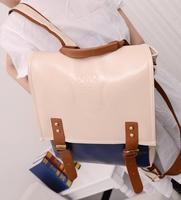 2014 new women bags retro England College Wind backpack schoolbag bag Korean leisure wild
