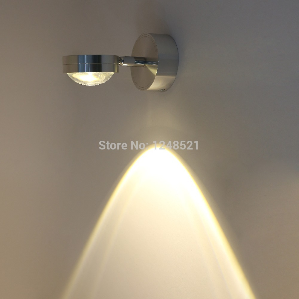 Bedroom modern wall lights - Free Shipping 3w Warm White Wall Lamp Aluminum Led Bedroom Restroom Wall Light Ac85 265v Mirror Wall Lamp Background Lamp