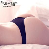 cotton thong sexy temptation female low-waist t 100% cotton panties