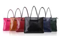 New women handbag genuine leather fashion cow soft leather brand designer high quality large totes handbags bag black blue green