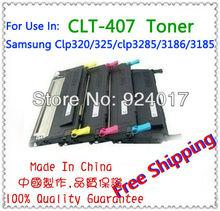 Compatible Toner Samsung 320 Printer,For Samsung Clp 320 325 Clx-3285 Toner Refill,For Samsung Clt-407 Clt407 Toner Cartridge