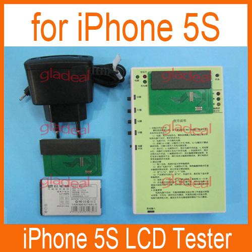 Lcd testeur pour tester l'écran tactile numériseur d'écran pour iphone 5s
