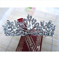 Bridal Pageant Rhinestone Crystal Wedding Prom Crown Tiara New Bridal Hair Crown Tiara Wedding Dress Accessories Free Shipping