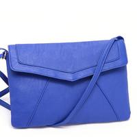 Free Shipping Envelope bag Solid Bag Mini(<20cm) Interior Slot Pocket Poucht Hasp women handbag women clutch