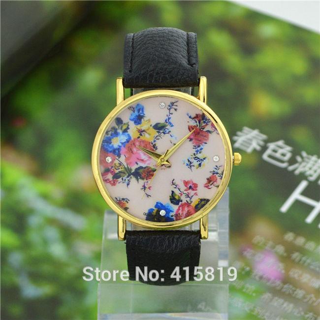 Горный хрусталь наручные часы мода