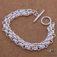 AH091 925 sterling silver bracelet, 925 sterling silver fashion jewelry  /gblaossa btxaklea
