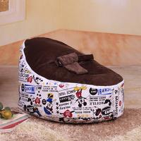 2014 New Design Newborn Baby beanbag seat with filler kids bean bag chair waterproof furniture baby sofa Free Shipping Via EMS