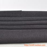 Black thick speaker face mask cloth net dropcloth speaker net fabric speaker net fabric dust cloth 0.5 meters 1.75 meters