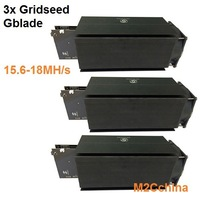 15 M -18M Scrypt miner 3x Gridseed G-blade , litecoin miner Fast shipping