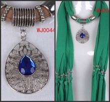 pendant scarf necklace price