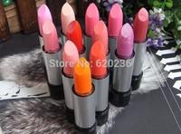 2014 Hot!! Brand Makeup 3G High-Quality M-C Plum-colored lipstick 10sets=120PCS Free Shipping